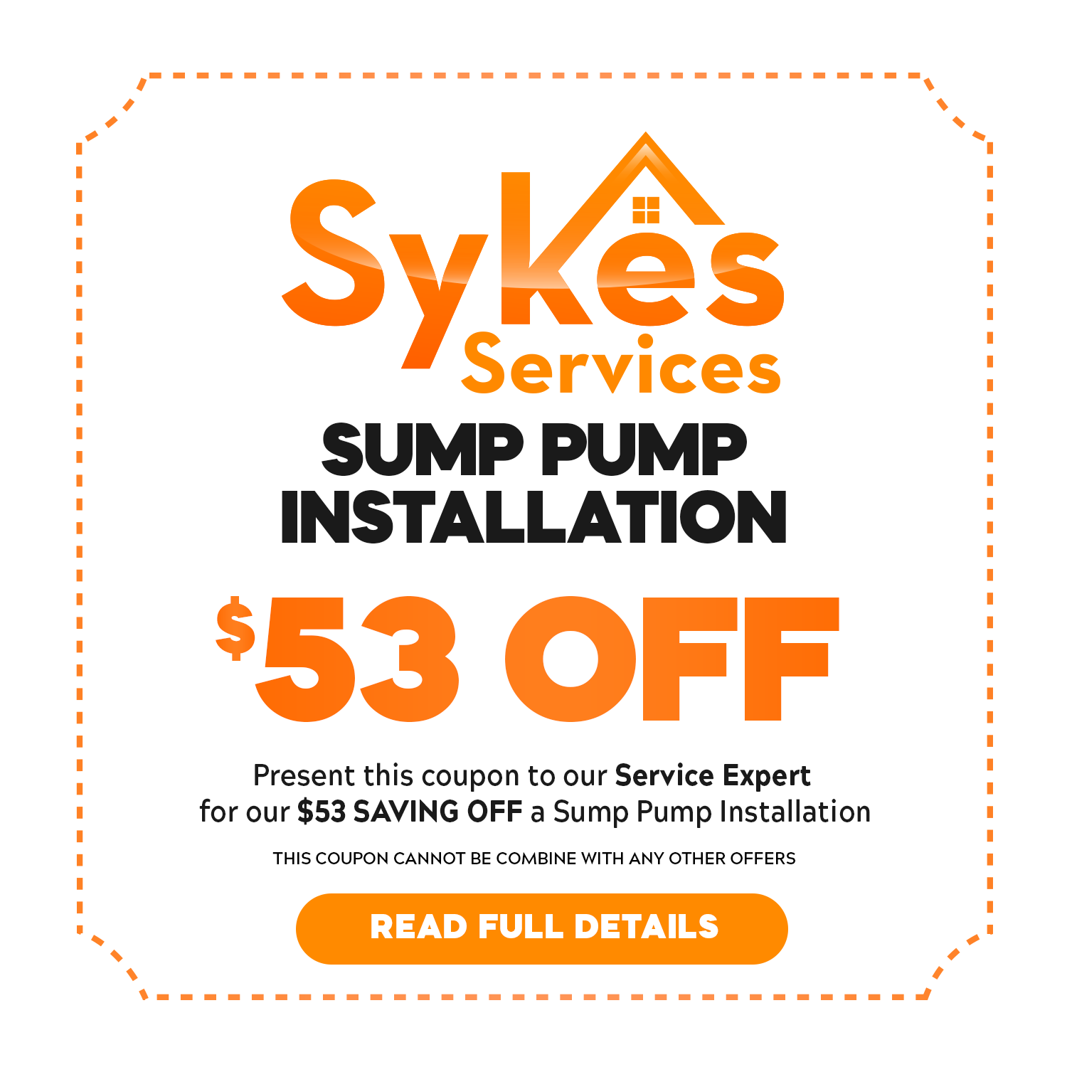 Plumbing Services Waldorf MD Sump Pump Installation Coupon Special